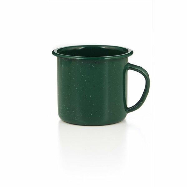 GSI Emaille Tasse 350ml grün