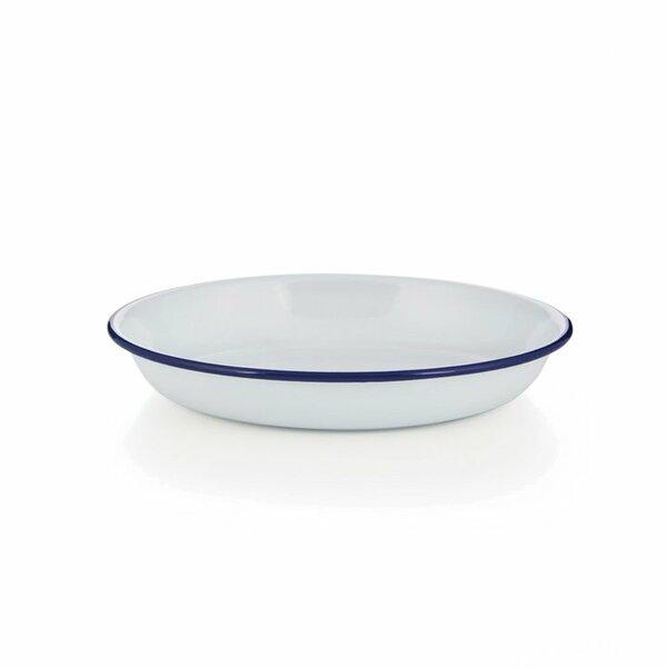 Emaille Reis- und Pasta Teller 22cm
