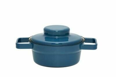 Kasserolle mit Deckel 16cm Silent Blue Aromapots