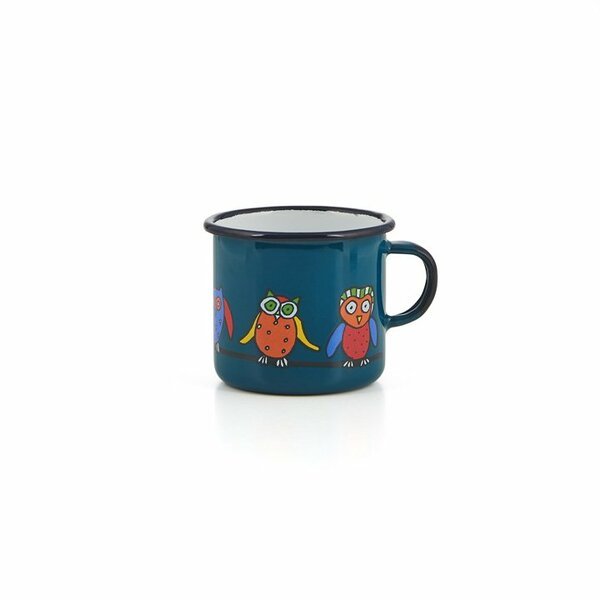 Emaille Kindertasse petrol 250ml