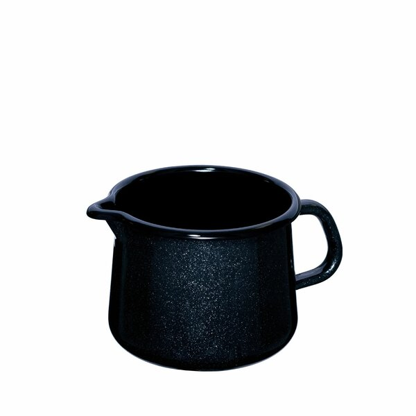Riess Emaille Schnabeltopf 1 Liter Black Magic