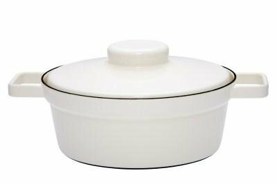 Kasserolle mit Deckel 24cm Pure White Aromapots