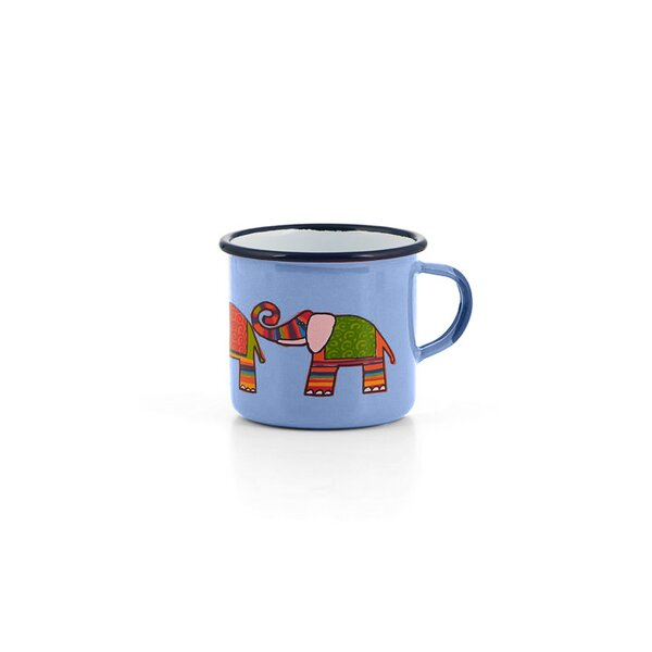 Emaille Kindertasse hellblau 250ml