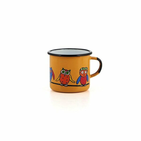 Emaille Kindertasse gelb 350ml