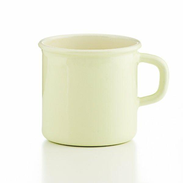 Tasse gelbgrün 3/8 Liter