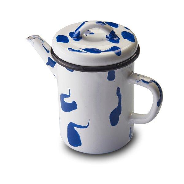 Kapka Emaille Teekanne Kaffeekanne