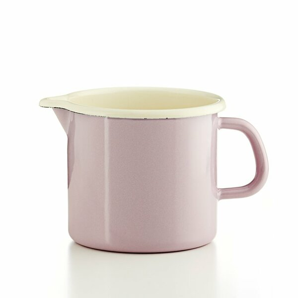 Riess Schnabeltopf rosa 1 Liter Emaille