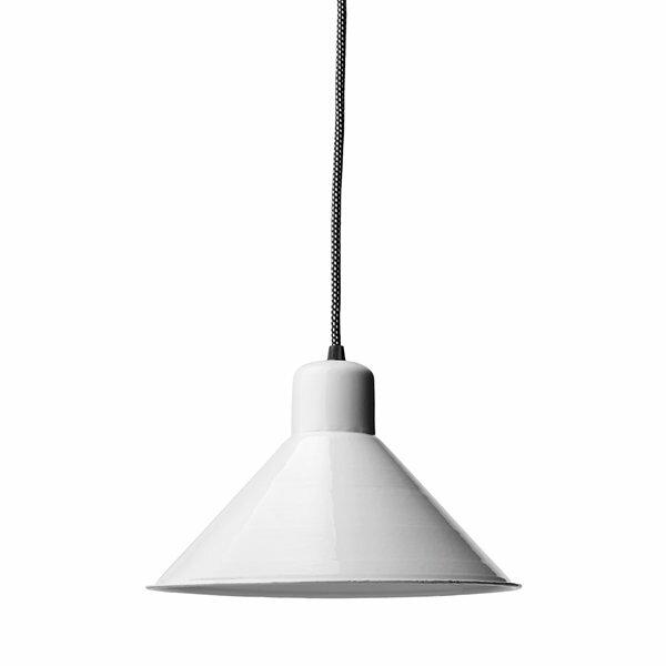 Gics Emaille Lampe Tiefstrahler 250 weiß