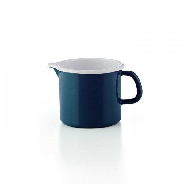 Riess Schnabeltopf Alicante Blau Emaille 9cm 0,5 Liter