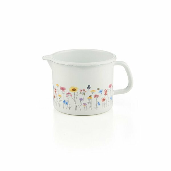 Riess Schnabeltopf Flora Emaille 0,75 Liter