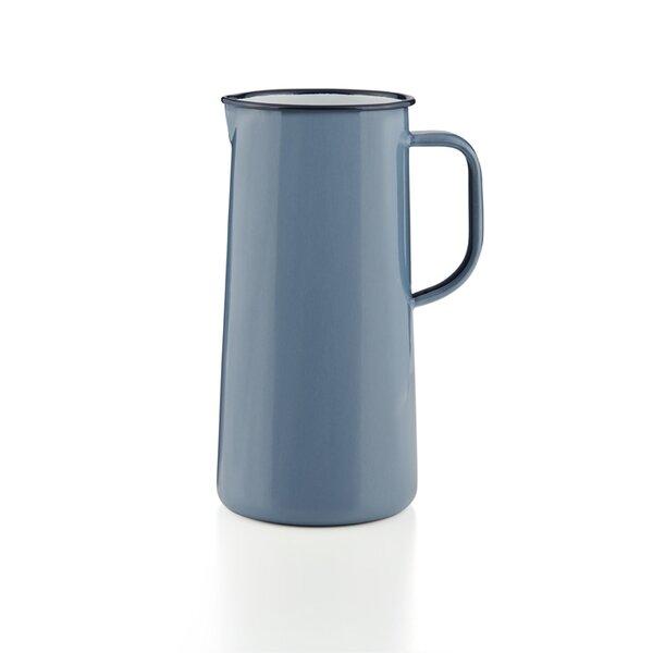Falcon Emaille Wasserkanne, Wasserkrug, Krug, Vase Periwinkle Blue