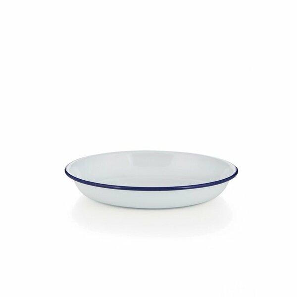 Emaille Reis- und Pasta Teller 18cm