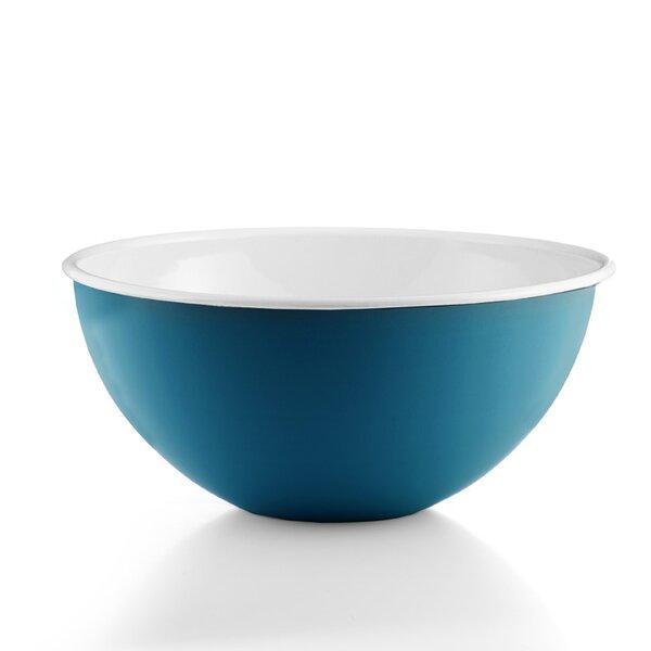 """Riess Emaille Obst- und Salatschüssel 30cm """"Cera Glas Blue""""  blau"""