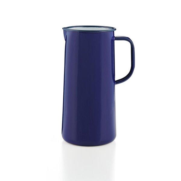 Falcon Emaille Wasserkanne, Wasserkrug, Krug, Vase Falcon Blue