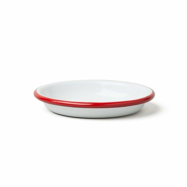 Falcon Emaille Saucen- und Dipschälchen  sauce dishes 14cm rot