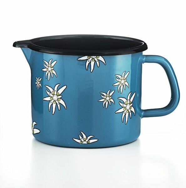 Riess Schnabeltopf Edelweiß blau 1,7 Liter blau