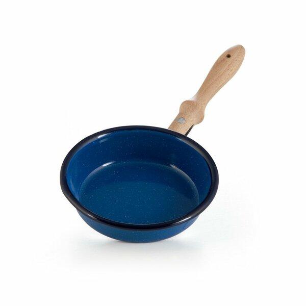 Emaille Kinderpfanne blau