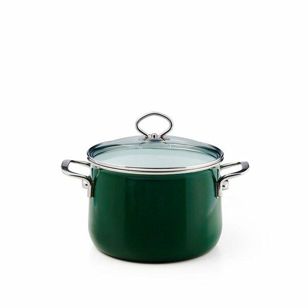 Riess Emaille Verde Fleischtopf 2 Liter top 3000