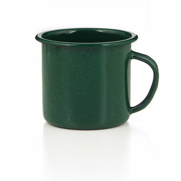 GSI Emaille Tasse 700 ml grün