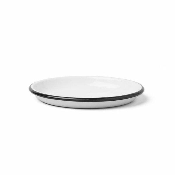Falcon Emaille Saucen- und Dipschälchen  sauce dishes 14cm schwarz