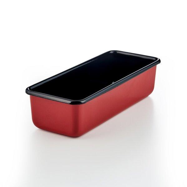 Riess Emaille Königskuchenform 30x10cm Color Rot Kastenform