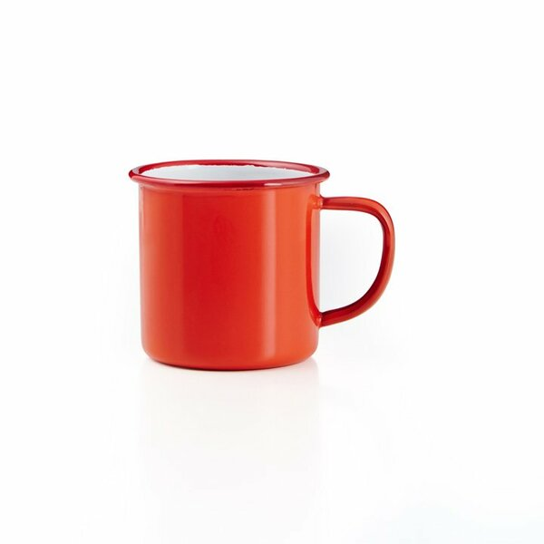 Falcon Emaille Tasse rot
