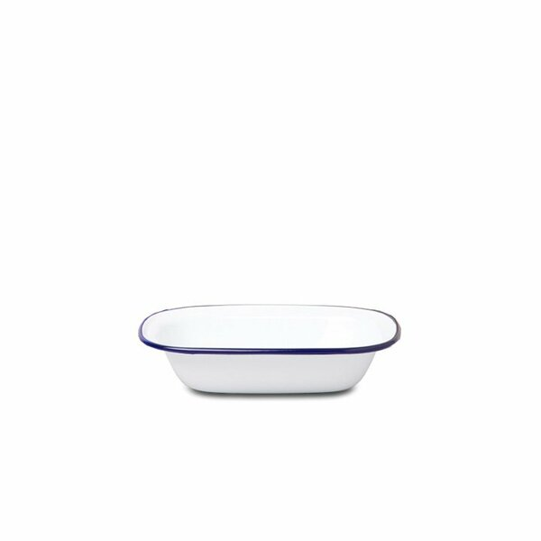 Falcon Emaille Pie Dish Ofenschale weiß
