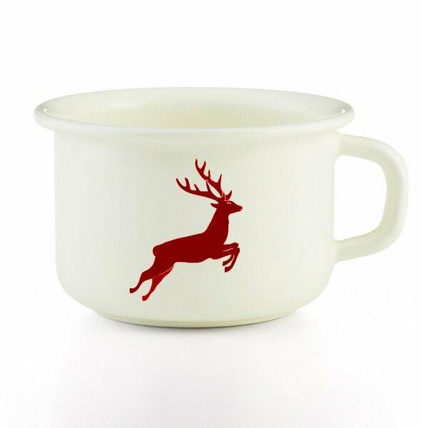 Riess Kaffeeschale Hirsch rot